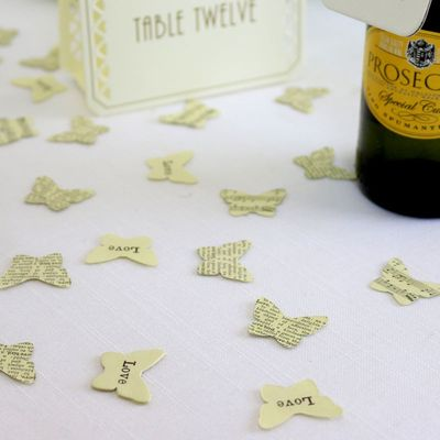 Butterfly Vintage Table Confetti