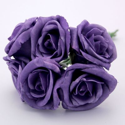 Georgia Foam Rose Purple