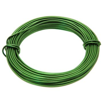 Dark Green Aluminium Wire