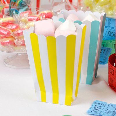 Popcorn Box with Marshmallow