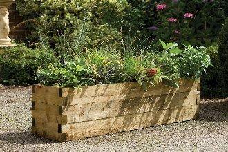 Forest Garden Caledonian Planter 180x45cm