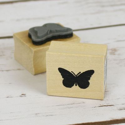 Butterfly Rubber Stamp