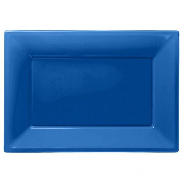 Royal Blue Serving Platters