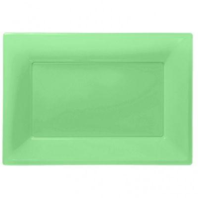 Kiwi Plastic Platters