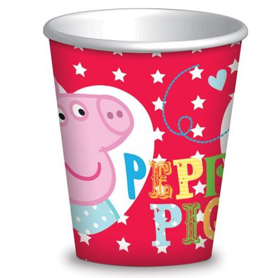 Peppa Pig Red Cups