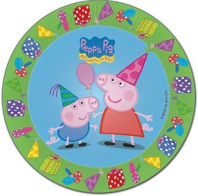 Peppa Pig Blue Plates