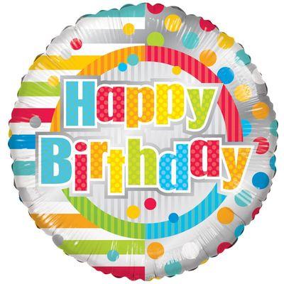 Radiant Happy Birthday Balloon