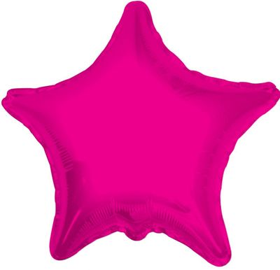 Hot Pink Star (22inch)