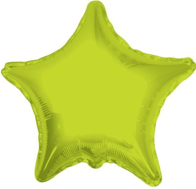 Lime Green Star Balloon (22inch)