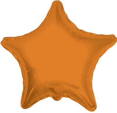 Orange Star Balloon (22 inch)