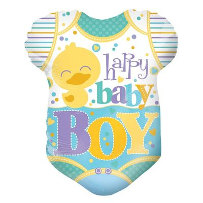 Happy Baby Boy Grow Shape Balloon