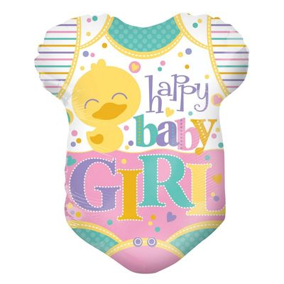Baby Girls Grow Balloon