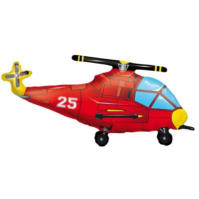 Helicopter Super Shape Foil Balloon