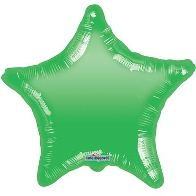 Green Star Gellibean Balloon