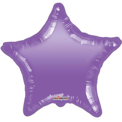 Purple Star Gellibean Balloon