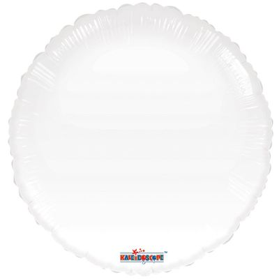 White Circle Gellibean Balloon