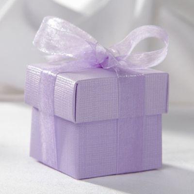 Lilac Favour Box