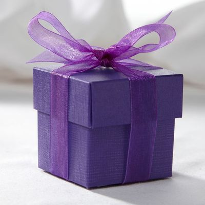 Purple Favour Box