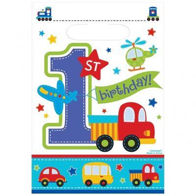 All Aboard Birthday Boy Loot Bags