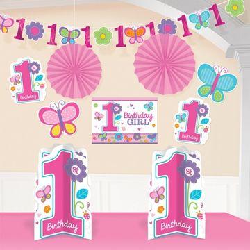 Sweet Birthday Girl Room Decorating Kit