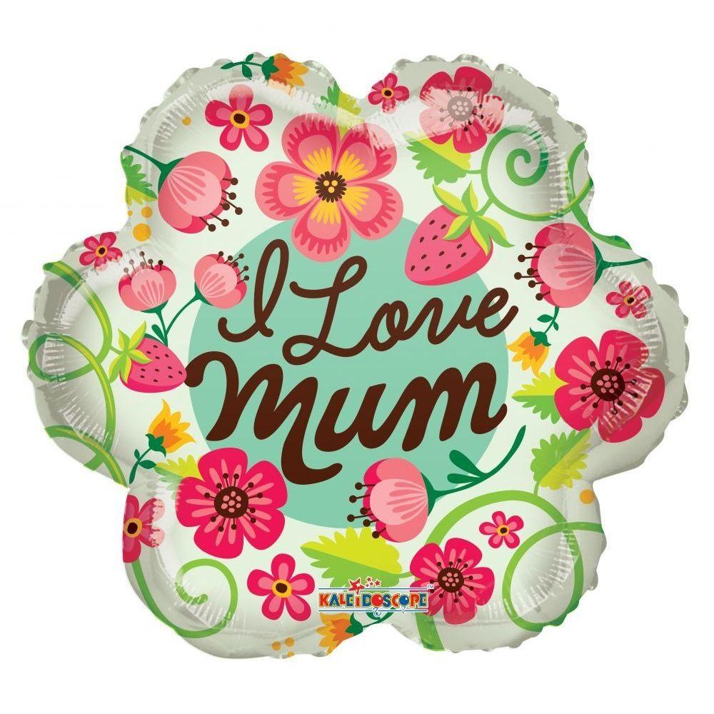 I Love You Mum Balloon
