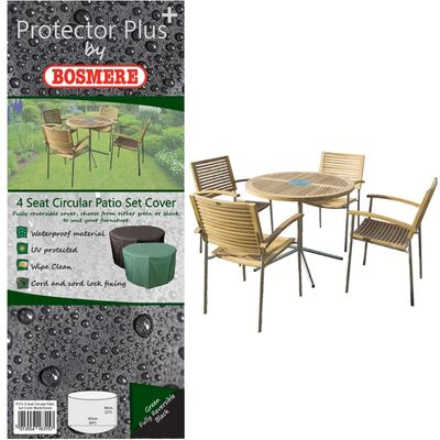 Bosmere Protector Plus Round Patio Set Cover
