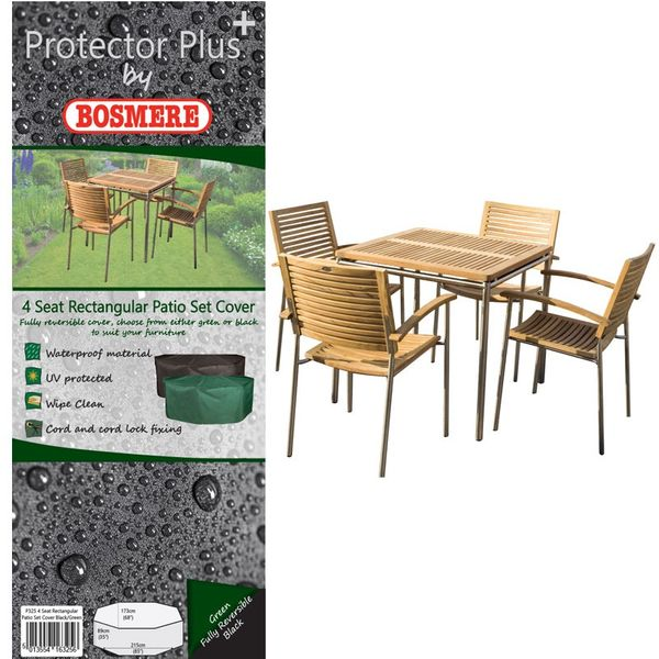 Bosmere Protector Plus Rectangular Patio Set Cover