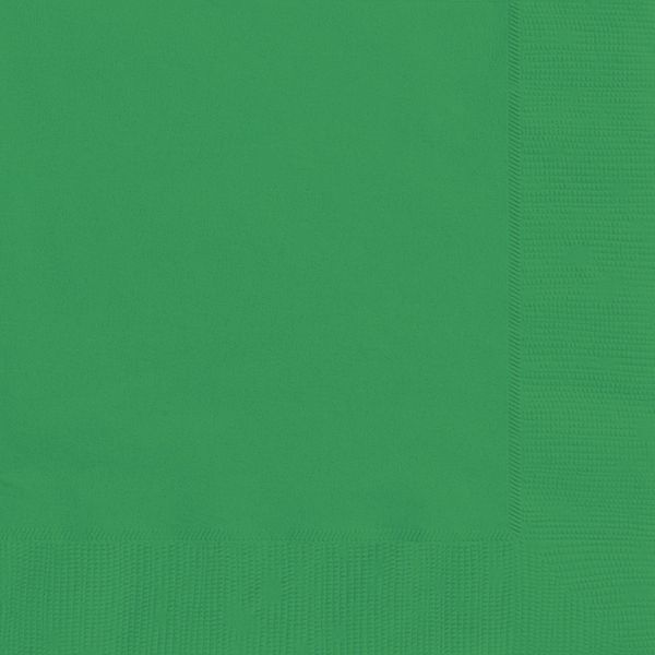 Green Luncheon Napkins - Pack of 20