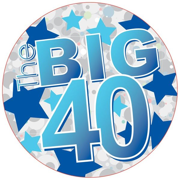 The Big 40 Jumo Badge