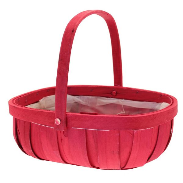 Red Softwood Trug