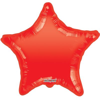 Red Star Gellibean Balloon