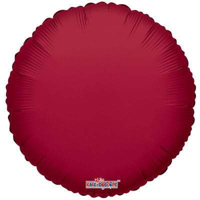 Burgundy Circle Balloon