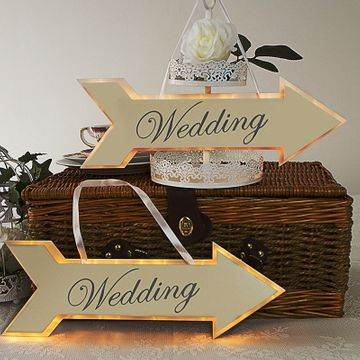 Illuminated Wedding Sign