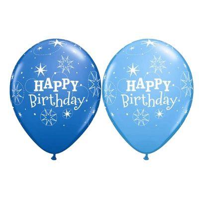 Turquoise Birthday Sparkle