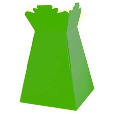 Lime Green Living Vase