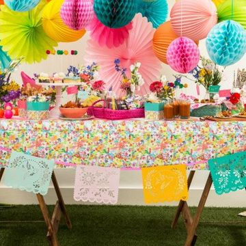 Floral Fiesta Tablecover