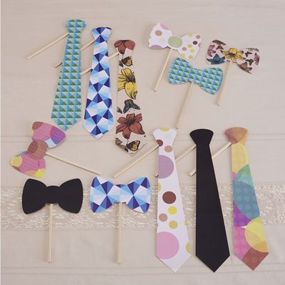 Ties and Bowties Photo Props