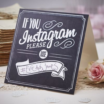 Instagram Sign
