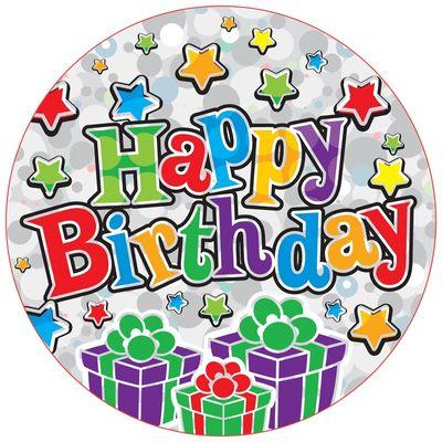 Jumbo Happy Birthday Party Badge