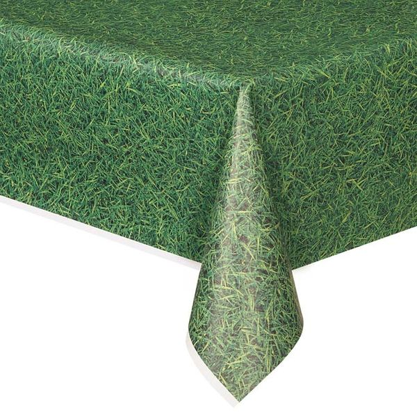 Green Grass Table Cover