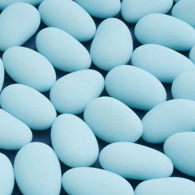 Blue Sugar Almonds