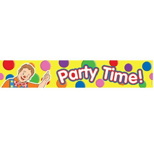 Mr Tumble Happy Birthday Foil Banner
