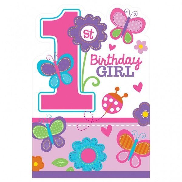 Sweet at One Birthday Invitations