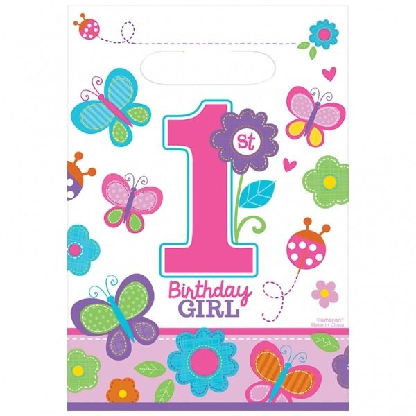 Sweet Birthday Girl Party Bags