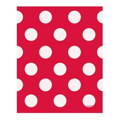 Red Polka Dot Bags