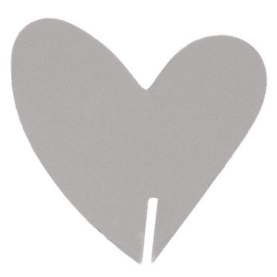 Heart Glass Edge Place Card