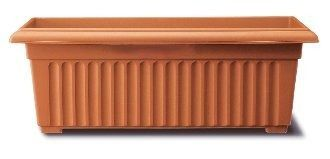 Stewart 70cm Corinthian Trough  - Terracotta