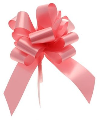 Pink Pull Bow 50mm