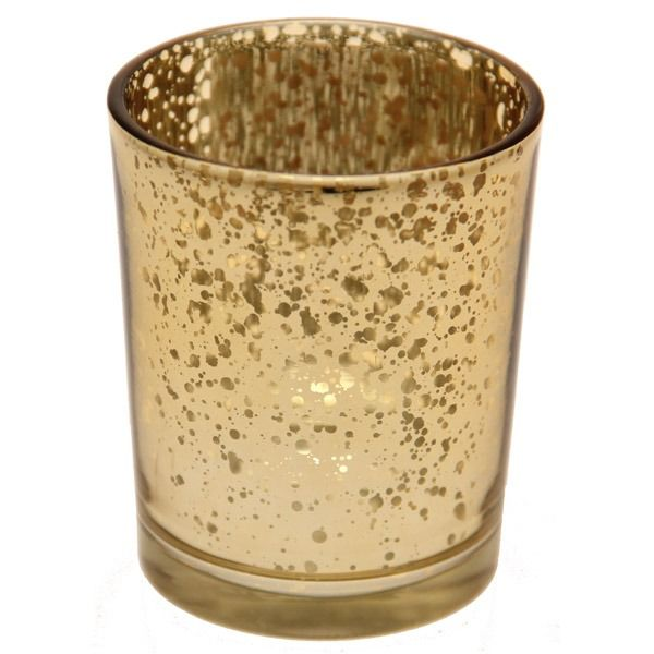 Champagne Speckle Votive
