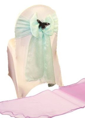Lilac Chair Sash